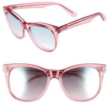 Sunglass Junkie ronde surdimensionnée Mesdames déclaration lunettes de soleil en cristal rose Verres miroirs Pink UV400 offrant une protection 100% UV. Bras en métal doré et détails de cadre sID8gI