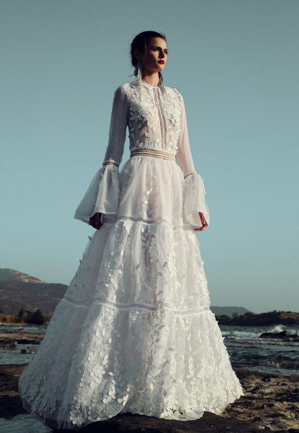 BR 1744 Garden Lace Skirt #weddingdress #bridal2017 #costarellos #bridetobe #brides #lace #novia #abitodasposa #wedding