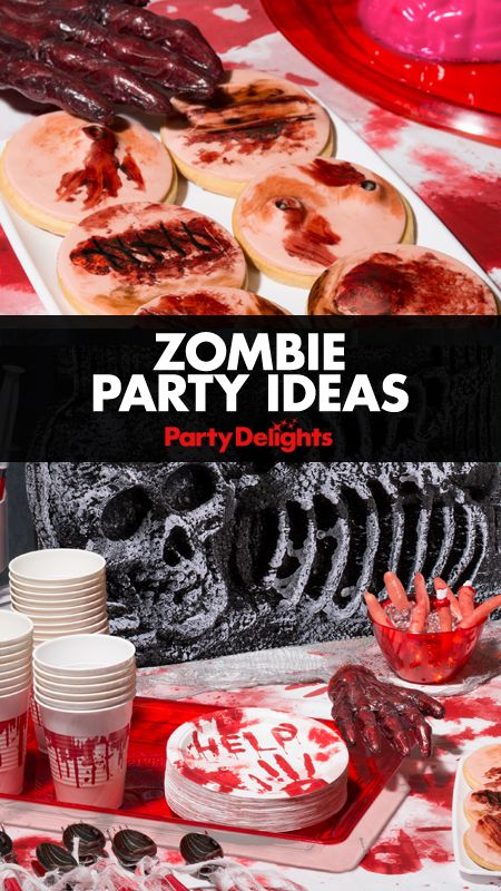 Throw a gruesome and gory zombie Halloween party with our round-up of zombie…