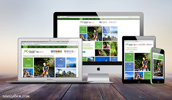 Responsive web design from Navega Bem