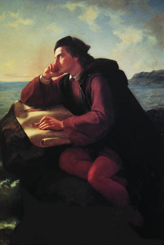 Obregón, José María-*The Inspiration of Christopher Columbus* (1856)