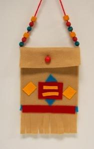 native american charm bags