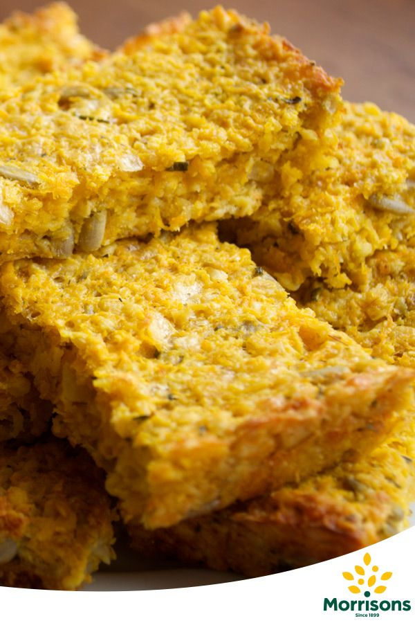 Instructions  1 Preheat oven to 180°C / 160°C fan / Gas mark 4 and grease a 25x20cm flapjack tin.  2 Put the porridge oats into a large mixing bowl.  3 Wash and top and tail the carrots (no need to peel if they are organic), then grate into a large bowl. (For speedy flapjacks, use a food processor with the grating attachment).  4 Grate the cheese and add to the bowl.  5 Finely chop the seeds and nuts (if using) then add to the bowl. You can crush them with a pestle and mortar or food…