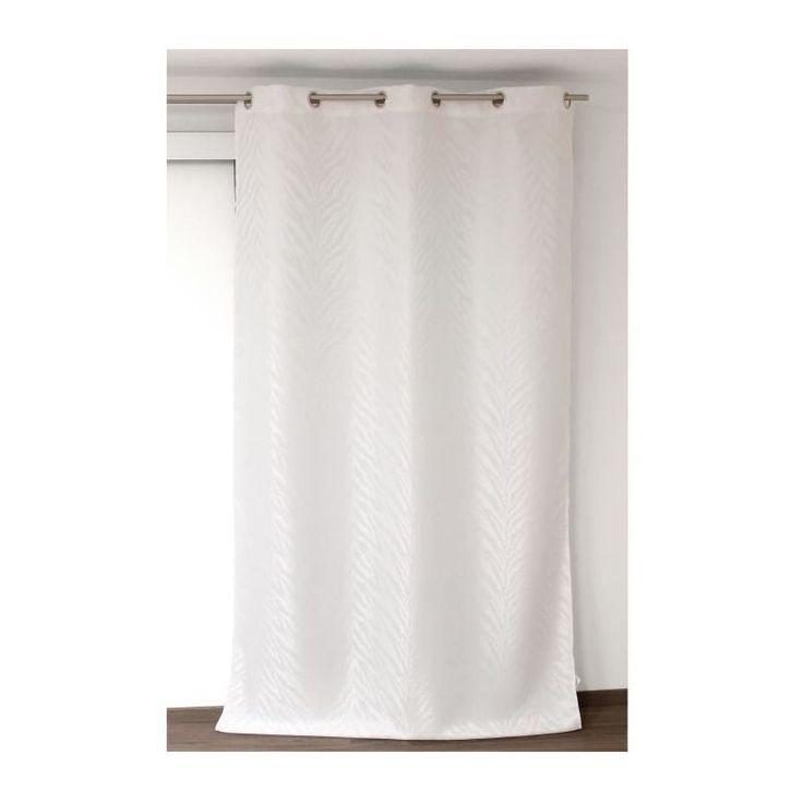 Today Rideau A Oeillets Tropik Summer Cascade 140 240 Cm Tod3574641003906 In 2020 Basic Shower Curtain Curtains Shower Curtain