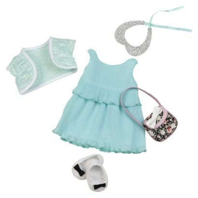 """Any """"Our Generation"""" outfits or accessories (from Target) for her doll"""
