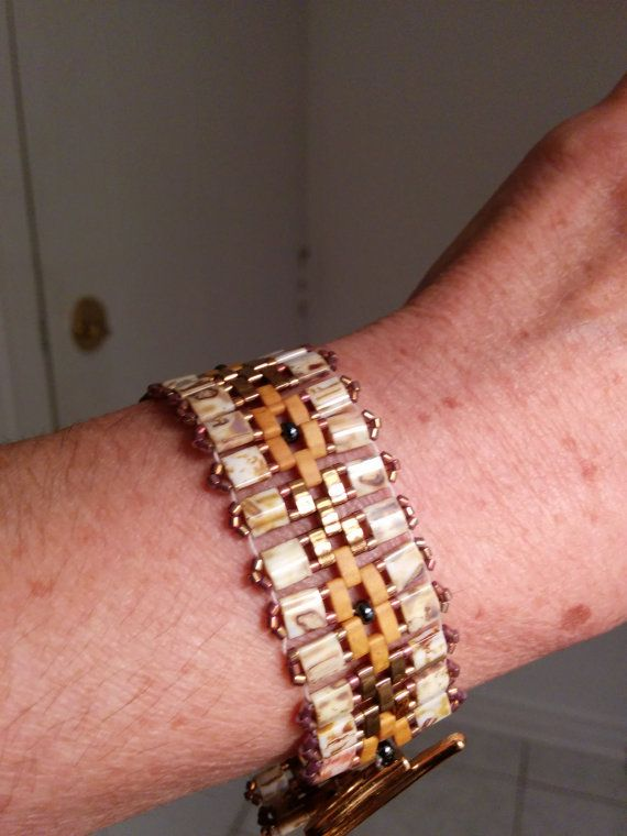 Japaneese tila bracelet Tila bracelet  Golden by ShopBalthazard