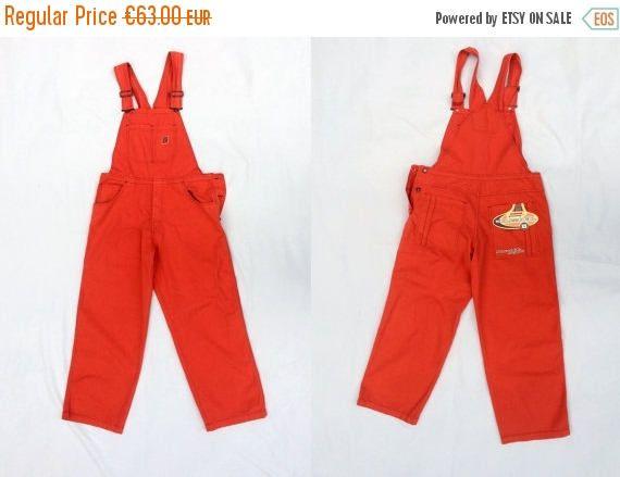 SALE Vintage jumpsuit / womens jumpsuit / mens jumpsuit / vintage UNISEX JUMPSUIT / Denim Overall size L