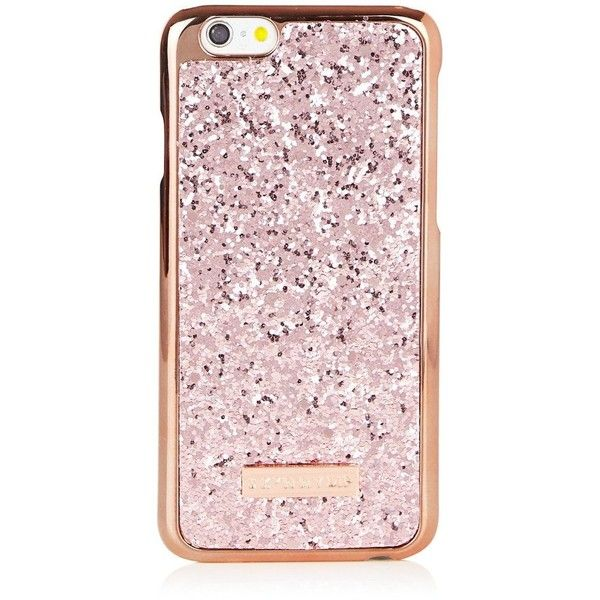 iPhone 6/6S Rose Gold Dita Case ❤ liked on Polyvore featuring accessories, tech accessories, phone, phone cases and tech