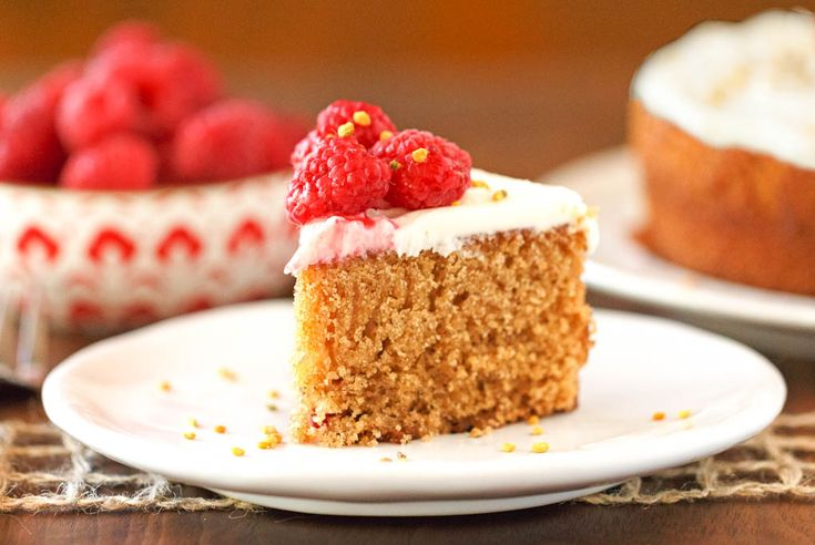 Spiced Honey Cake + Cream Cheese Frosting - An easy and deliciously moist honey cake. It's rich, nicely spiced, and a standout in both taste and stature