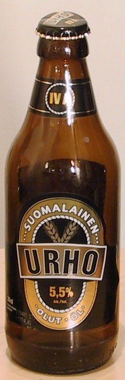 Urho bottle by Hartwall