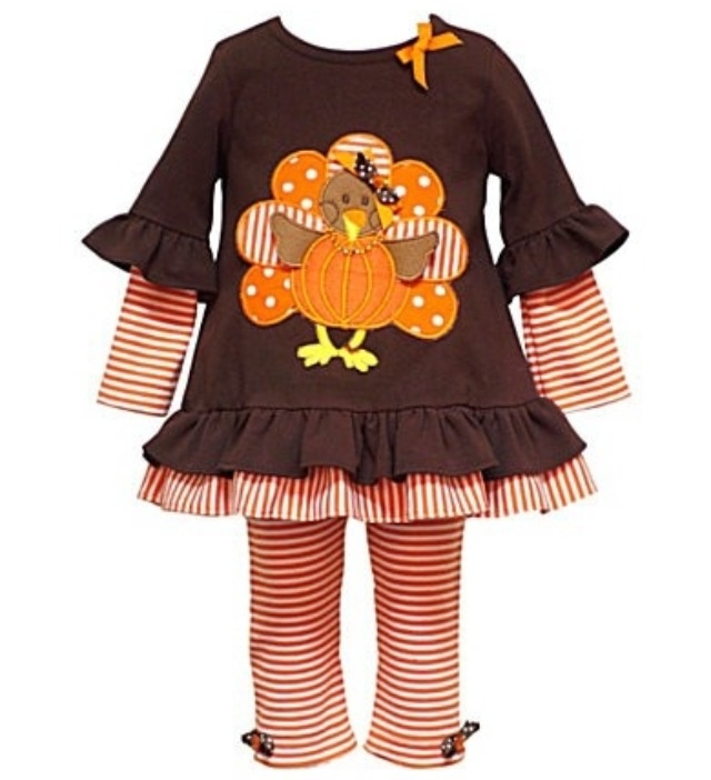 Super Cute!!! Toddler Thanksgiving outfit