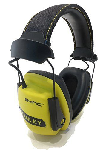 NEW Stanley SYNC MP3 Noise Reduction Protection Earmuffs Headphones Ear Defender by The ROP Shop