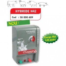 Poze Aparat gard electric pentru animale domestice si salbatice HYBRIDE H42, 220V/12V