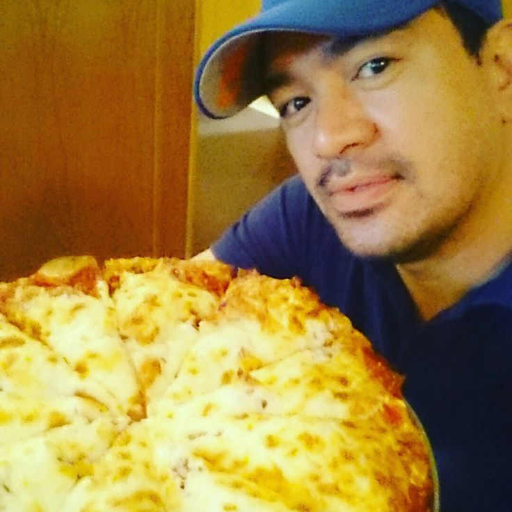 Cheat Day. Life is Short Life is Good Lets Eat Pizza