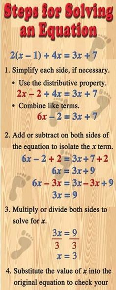 Solving Equations. -         Repinned by Chesapeake College Adult Ed. We offer free classes on the Eastern Shore of MD to help you earn your GED - H.S. Diploma or Learn English (ESL).  www.Chesapeake.edu