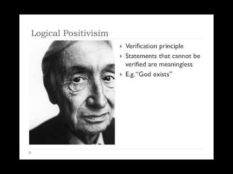 Philosophy of Science I - YouTube