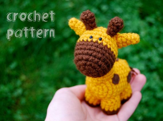 PDF CROCHET PATTERN  Stumpy the Giraffe by nutsaboutcrochet13, $6.00