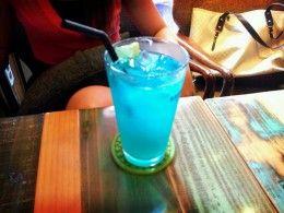 Blue Summer Mocktail Virgin Drink Recipe