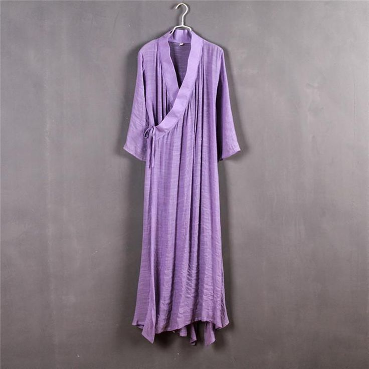 Chinese Style Xie Jin Sheer Meditation Clothing