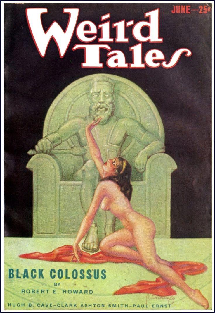 Weird Tales, June 1933: Black Colossus (conan)