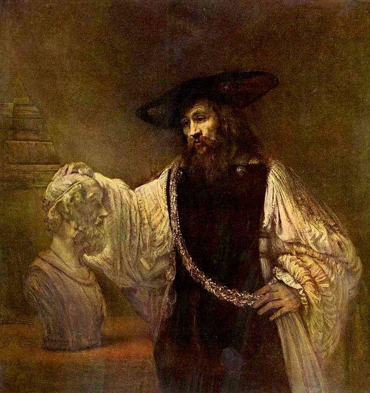 Рембрандт ван Рейн. Аристотель. 1653 г.
