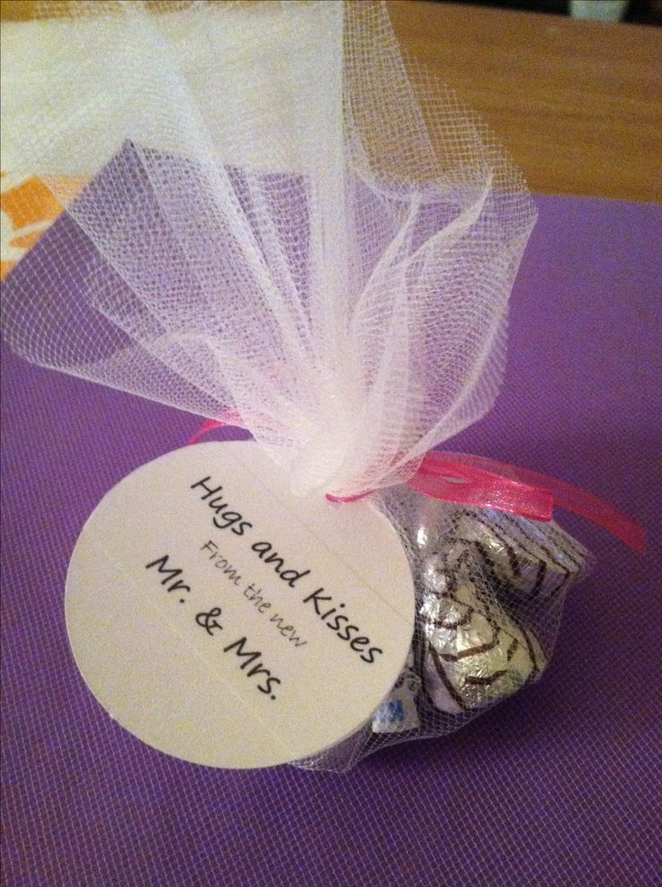 how to make chocolate favors for weddings
