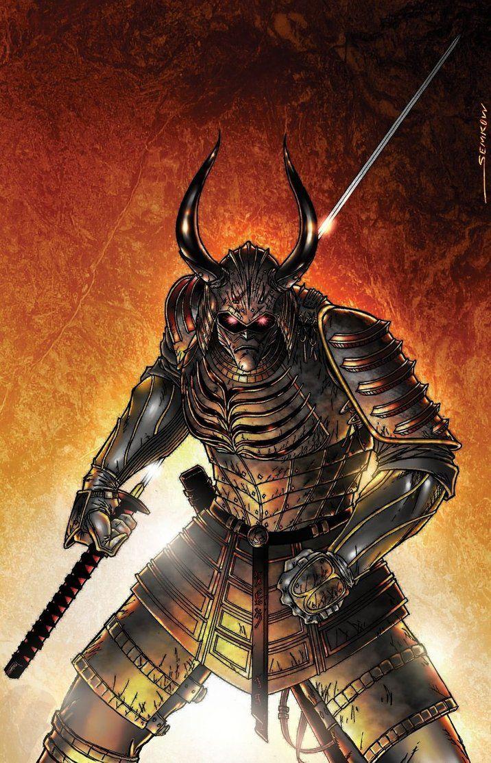 Evil Samurai - Other &- Anime Background Wallpapers on Desktop ...