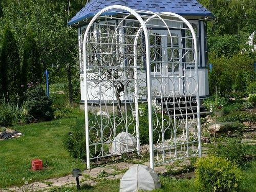 садовые арки для клематисов - Поиск в Google