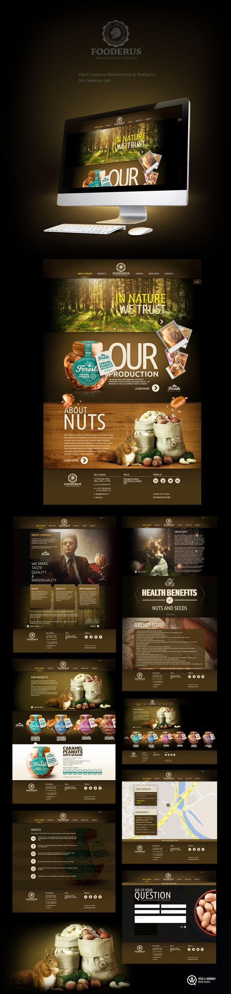 Fooderus website layout and design #webdesigninspiresmetobebetter