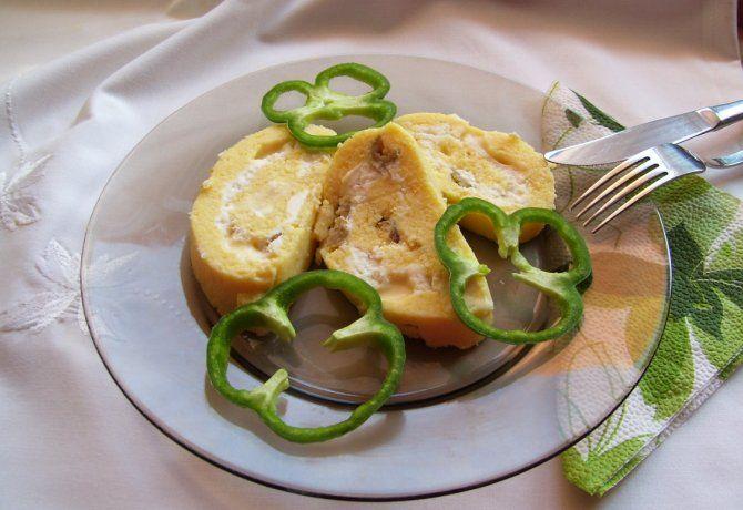 Sajtos-olívás-juhtúrós polenta