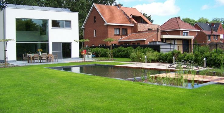 42 best images about zwemvijvers biologische zwembaden on pinterest - Zwembaden ecologische ...