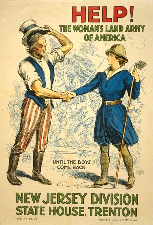 Affiche guerre 1914 - 18 - Etats Unis