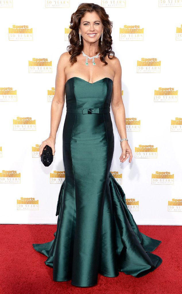 Kathy Ireland from Sports Illustrated Swimsuit Issue 50th Anniversary Party | E! Online