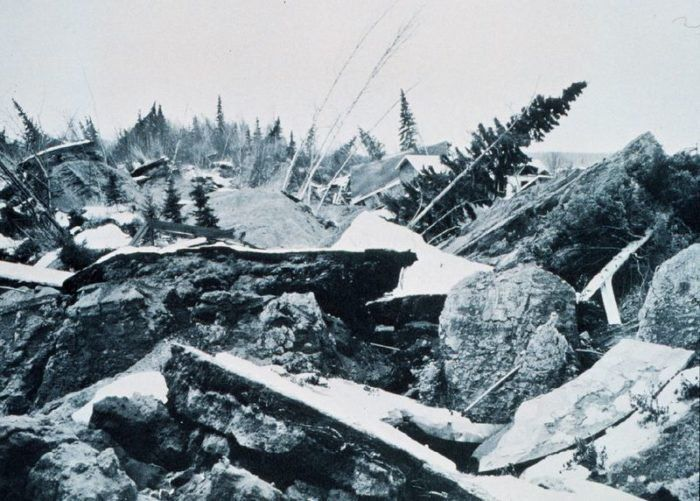 19. The 1964 Good Friday Earthquake was the largest recorded earthquake in North America at magnitude 9.2. Of the ten strongest earthquakes ever recorded in the world, three have occurred in Alaska.
