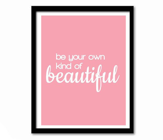 Super Cute Girly Quotes: Valentine Gift Inspirational Quote Girly Gift By