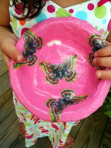Easy paper mache bowls for kids to make crafts art for Simple paper mache projects