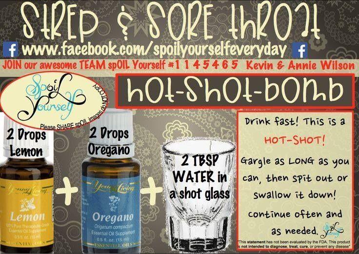 Sore throat young living essential oils pinterest sore throat