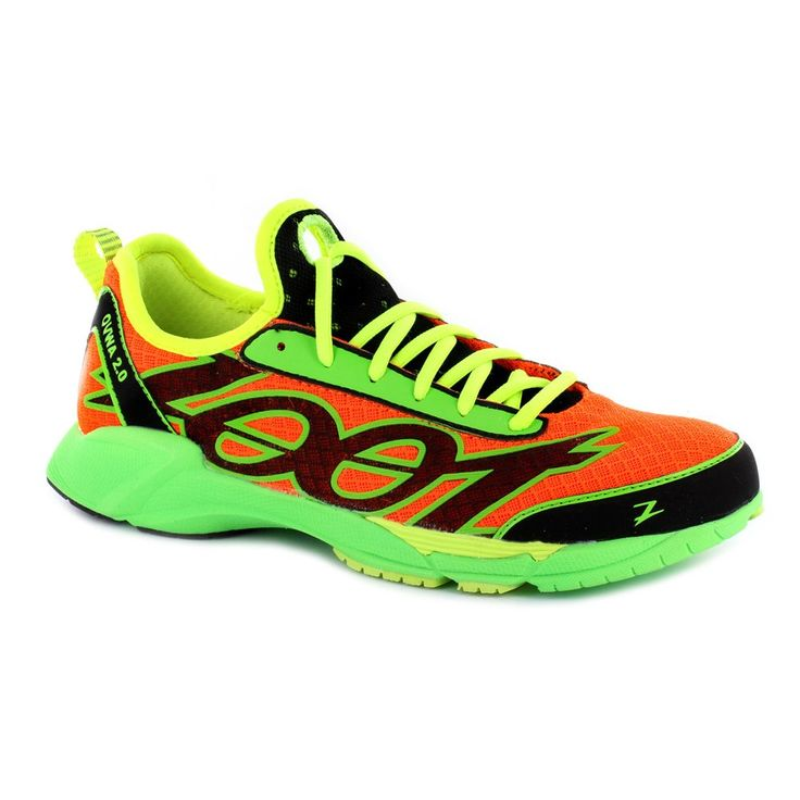 Zapatillas Zoot Ovwa 2.0 Blaze-Safety yellow-Green flash 2013 | Triavip.com