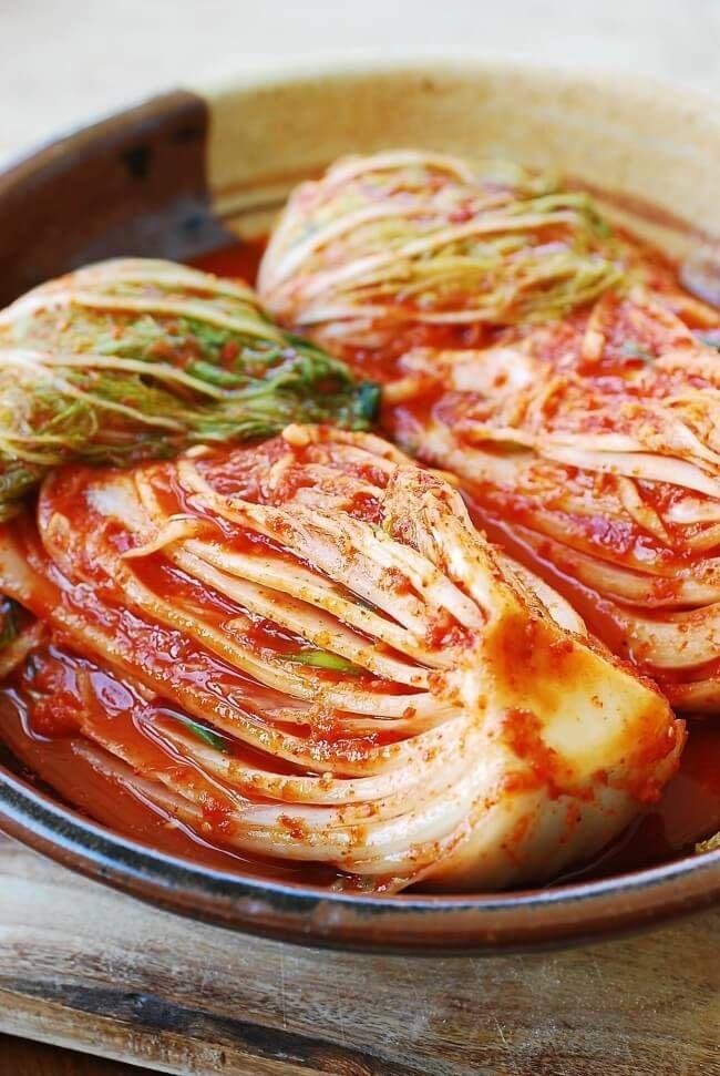 napa cabbage kimchi recipe
