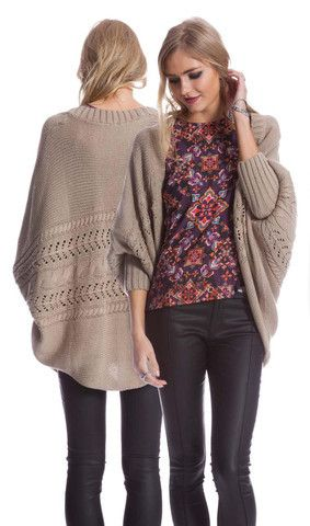 AlibiOnline - Cocoon Cardi by COOPER ST, $99.95 (http://www.alibionline.com.au/cocoon-cardi-by-cooper-st/)