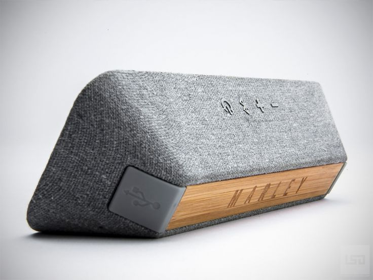 Liberate Bluetooth Speaker | House of Marley | LifestyledesignLifeStyleDesign Product Design #productdesign