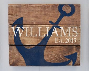 Established Sign Last Name Sign Maine Lobsters Personalized