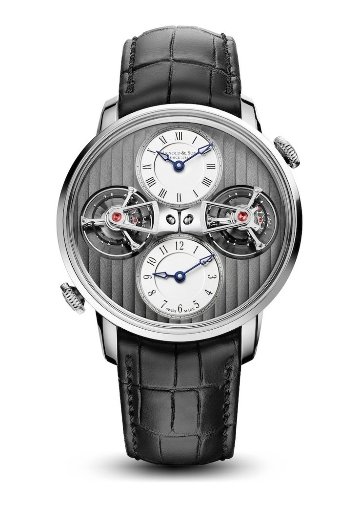 "Arnold & Son​ DTE Double Tourbillon Escapement Dual Time Watch For 2015 - by Rob Nudds - see more about it now: http://www.ablogtowatch.com/arnold-son-dte-double-tourbillon-escapement-dual-time-watch-2015 ""It's always nice to see brands celebrating their heritage appropriately. The new Arnold & Son DTE Double Tourbillon Escapement Dual Time watch does just that. Few brands around these days have the luxury of being able to claim their founder played a role in the creation of a complication…"