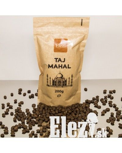 Káva Taj Mahal | tá pravá pre Vás - elezi.sk | cukráreň Elezi - domáca zmrzlina, torty, zákusky