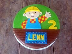 Bob de Bouwer Taart / Bob the Builder Cake