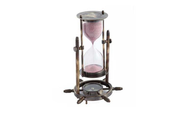 Часы песочные с компасом Вечер на рейде...