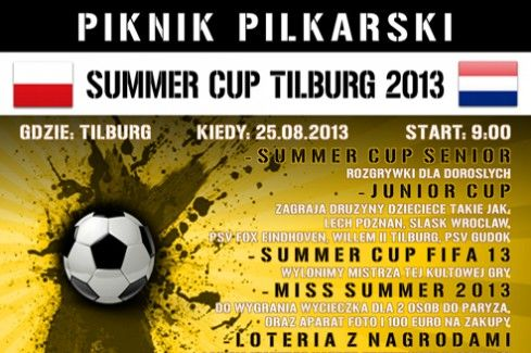 Summer Cup Tilburg 2013 – under our media patronage | Link to Poland