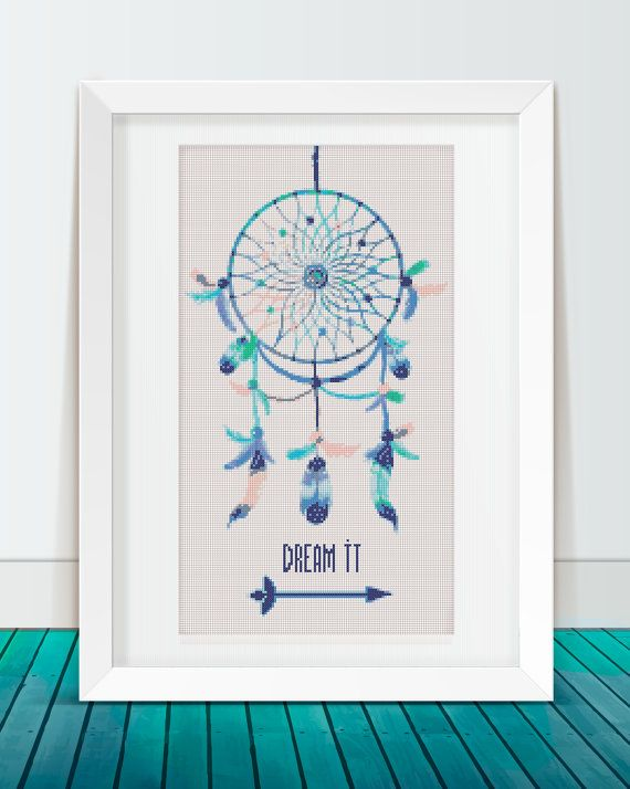 Hey, I found this really awesome Etsy listing at https://www.etsy.com/listing/250177362/dreamcatcher-modern-cross-stitch-pattern