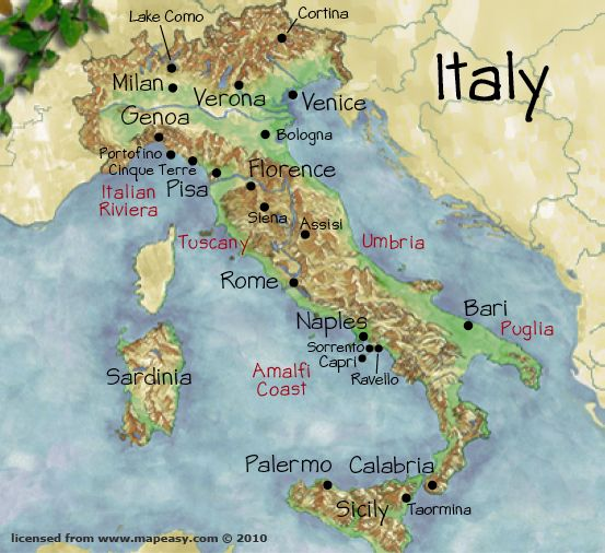 I want to see it all....Pizza in Naples, the castles of Sicily, the wonders of Rome, Venice, the fashion in Milan.... :)