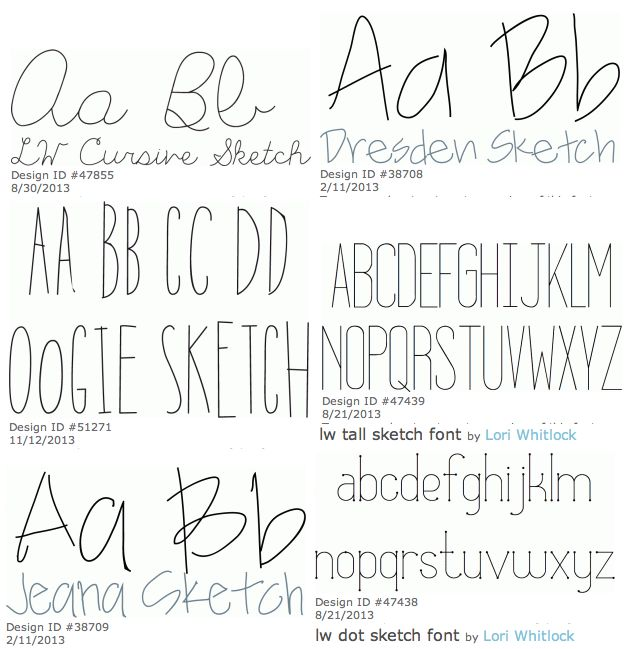 HCBC - Hand Crafted By Chameray Silhouette Sketch Pens For Fonts | Silhouette | Pinterest ...
